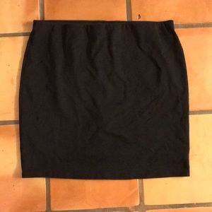Old navy stretch pencil skirt black XL comfortable